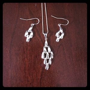 Jewelry - Sterling Silver necklace and earrings